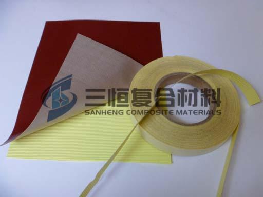 硅橡胶耐高温玻纤黏胶带,硅胶自粘胶带,带背胶硅橡胶玻璃布,单面背胶硅胶带