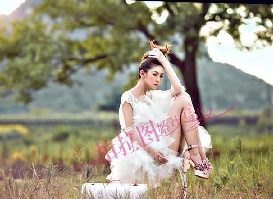 准新娘拍摄婚纱照的常用姿势你知道几个