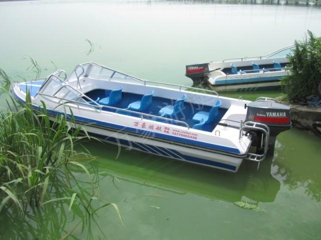 常州万豪游艇、WH538敞开艇、8人座
