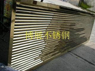 供应 定制加工不锈钢窗户 百叶窗