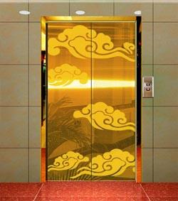 供应 定制加工不锈钢电梯门