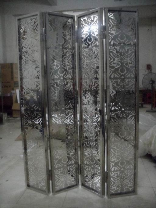供应 定制加工不锈钢隔断护栏