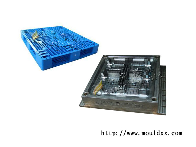 九脚型托盘塑料模具标准化