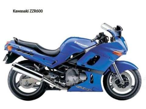 川崎ZZR600摩托车全新报价