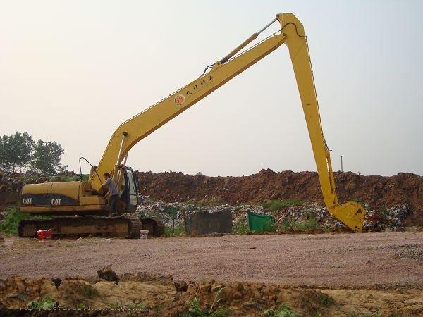 CAT336挖掘机加长臂18米