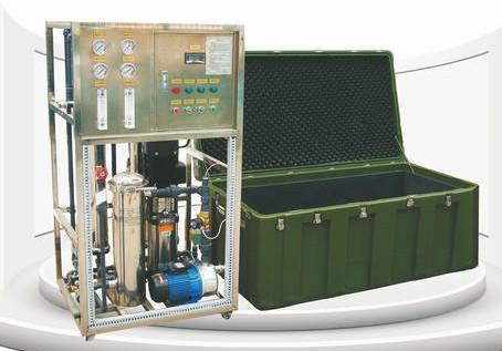 海德能大型应急移动净水设备