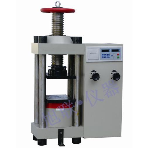 混凝土砌块强度测量设备_加气砌块抗压抗折试压机