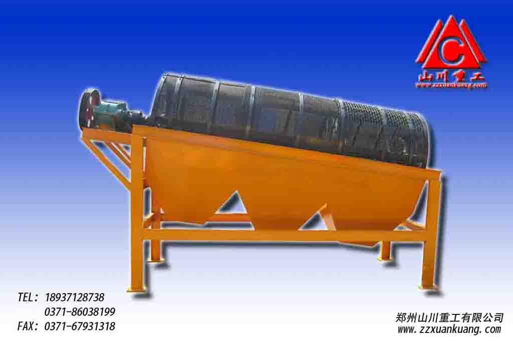 砂金矿圆筒筛高质筛网矿设备生产厂家