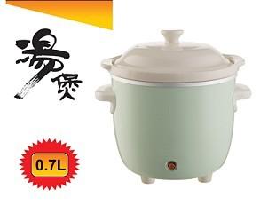 0.7升小炖盅 白瓷电炖锅
