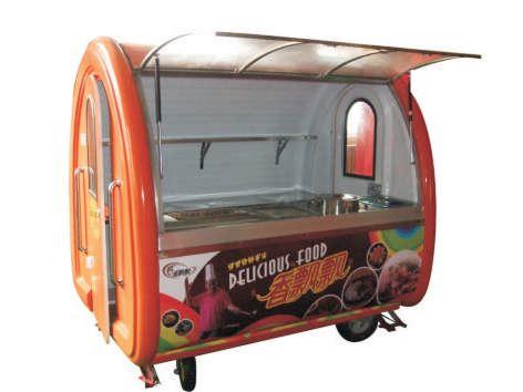 一路飘香小吃车|烧烤车|多功能小吃车厂家直销
