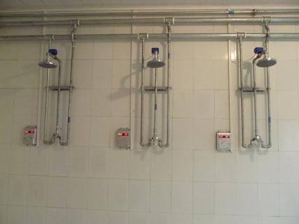 IC卡水控机淋浴节水控制器浴室计费刷卡机