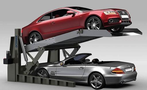 简易升降式立体停车库机械式停车设备