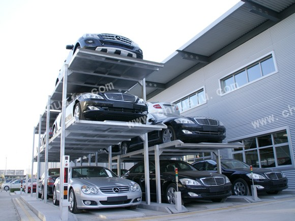 简易升降式立体停车库智能立体停车系统