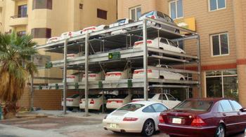 深圳智能停车场机械式立体停车系统升降横移式立体车库