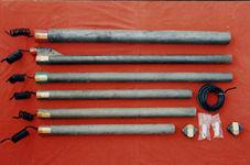 外加电流工厂预包装高硅铸铁阳极 深井阳极 实心高硅铸铁阳极