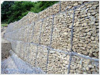 电焊石笼网(景观石笼网)的优势