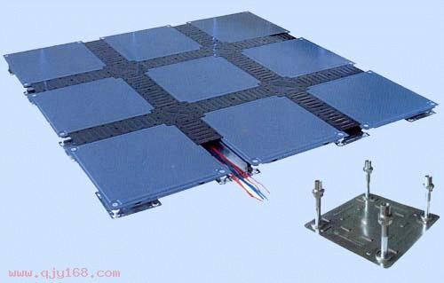 江立品牌OA网络智能防静电地板生产工艺