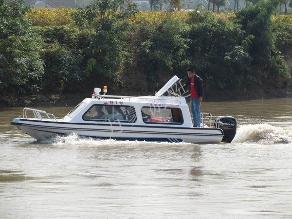 万豪巡逻艇、6米8人快艇/钓鱼艇 /玻璃钢游艇