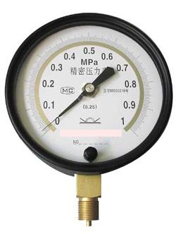 Y-01微压表_过压防止瓦斯表_水注表¬_75mm气压表