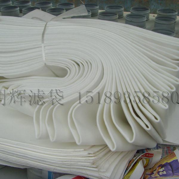铝厂电炉专用耐酸涤纶针刺毡收尘袋
