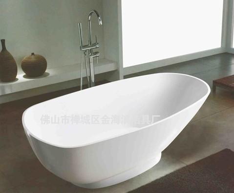 供应佛山现代微晶石浴缸