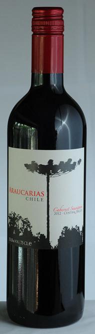 南美杉赤霞珠红葡萄酒
