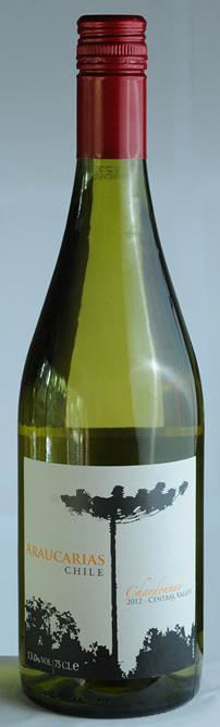 南美杉霞多丽白葡萄酒