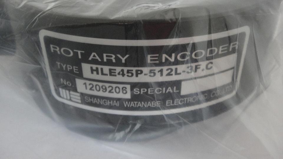 渡边编码器HLE45P-512L-3F·C