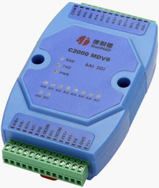 通道隔离采集模块,8路0-10v模拟量输入,0-10v采集器