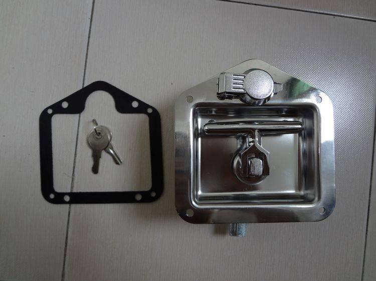 汽车工具箱锁 不锈钢T型锁 不锈钢转舌锁