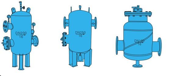 西安QCQ型自洁式排气水过滤
