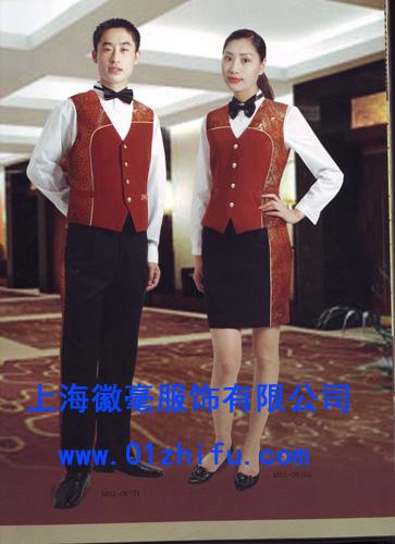 订做酒店制服 西装 促销服