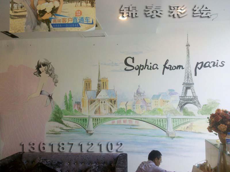 云南昆明西山风景区广告