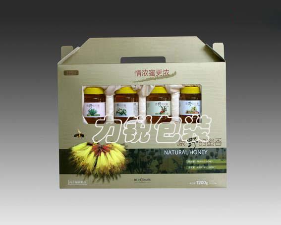 蜂蜜包装盒,纸盒设计