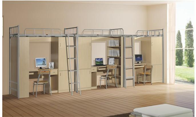 宿舍双层床-高低床厂家