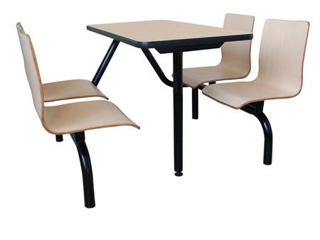 防火板桌椅系列,萝岗快餐桌椅