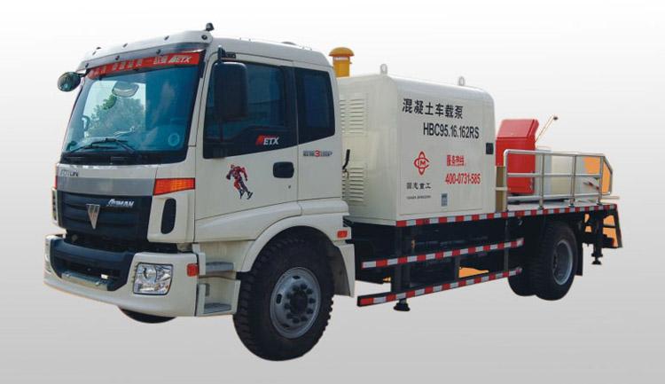 混凝土车载泵 车载式输送泵 圆志重工18073105691