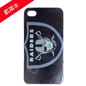 航琪丰iPhone4/4s黑色个性IMD手机保护套
