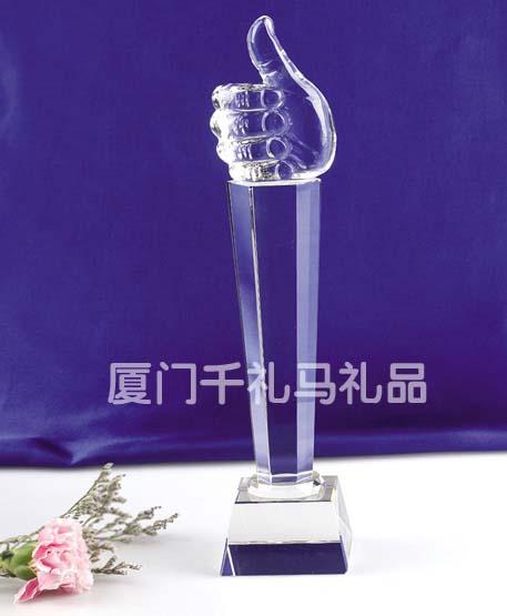 厦门水晶奖杯