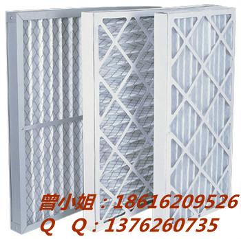 云南初效板式空气过滤器(白色无纺布可洗式,拆卸换棉过滤器)