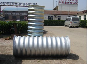 金属波纹涵管/钢壁波纹涵管/拼装大口径金属涵管专业生产厂家