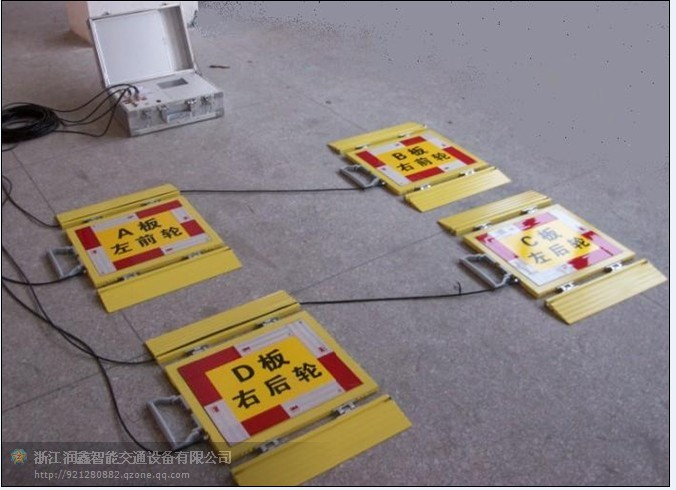 浙江润鑫无线便携式汽车测重仪 性能卓越稳定可靠!