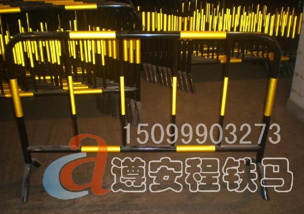 广州铁马,隔离铁马,铁护栏 ,遵安程厂家只生产优质铁马