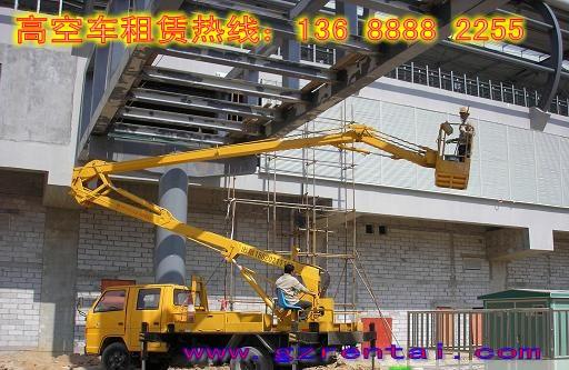 受理各种包台班、包月、包年业务 广州高空车租赁绝对最便宜的价格