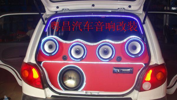 专业改装卖CD汽车音响高清图片