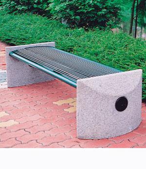 无靠背铸铁休闲椅,铸铁椅子 平板椅子 公园椅子 园林椅