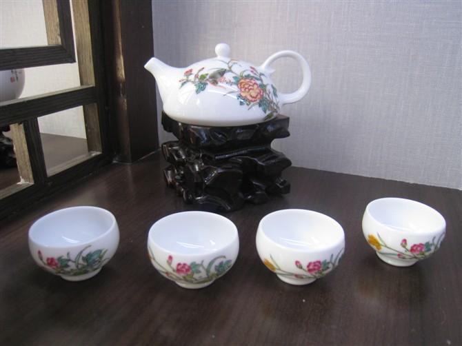 高档手绘陶瓷茶具,功夫茶具,礼品茶具