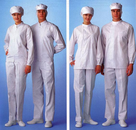 防静电工作服、食品工作服、洁净工作服、无尘服