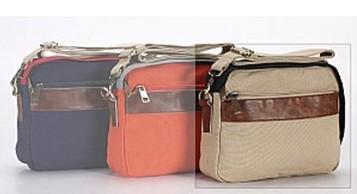 2013新款帆布配皮休闲小包 小巧时尚 便携式时尚流行单肩包