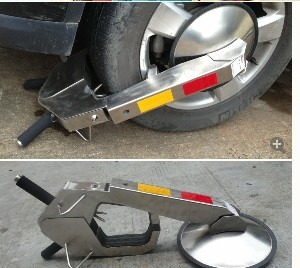 含运费含税 耐用耐撬车轮锁
